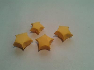 Como hacer una estrella de papel (origami lucky star)
