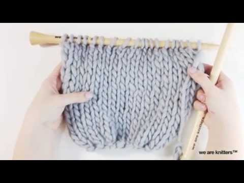 ¿Cómo tejer una Bufanda Mágica? - WE ARE KNITTERS