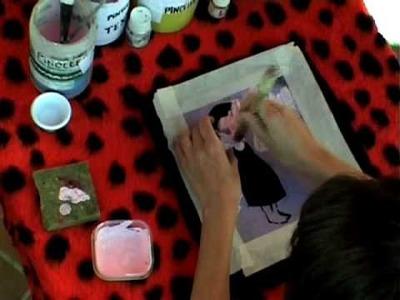 Copiplis Cómo pintar camisetas con plantilla