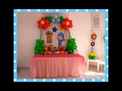 Decoración infantil Fiesta Pocoyo