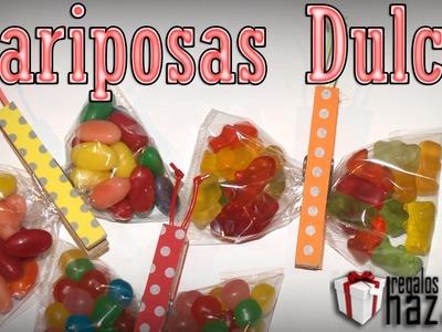 DIY - Detalles Comunion, Bautizo, Cumpleaños - Mariposas Dulces