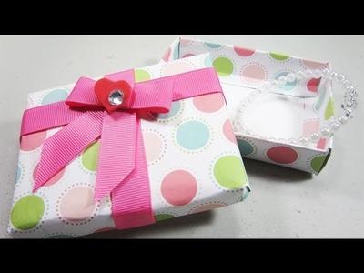Episodio 550- Cómo hacer una cajita de regalos personalizada