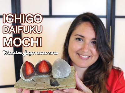 Receta de Ichigo Daifuku Mochi - RecetasJaponesas.com