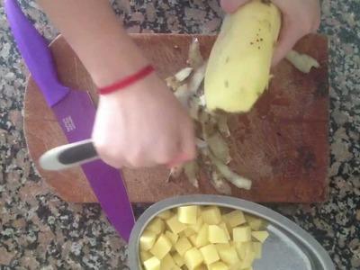 Tortilla de patatas light - Receta ligera de tortilla