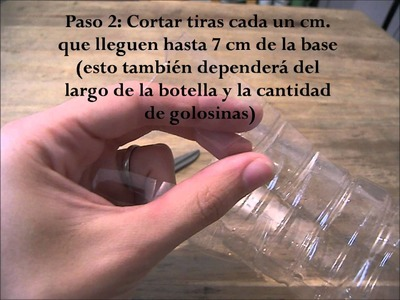 Tutorial Envoltorio con Botella