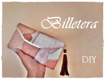 Billetera reciclada By Katt ♥