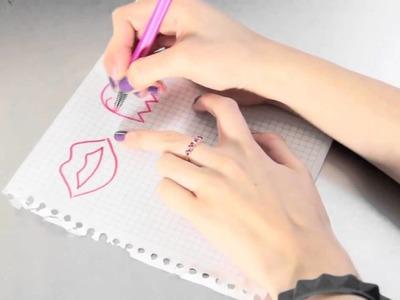 Como hacer collares y  llaveros con silicon