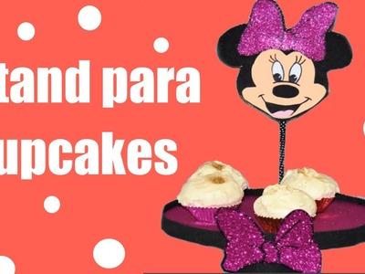 Como hacer stand de Minnie Mouse