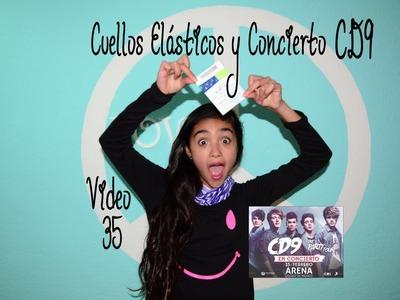 Cuellos Elásticos BUFF y Concierto de CD9  Video 35 Xime Ponch