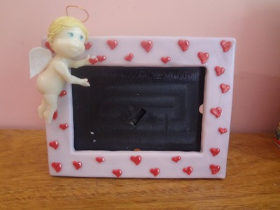 Cupido,angelito en porcelana fria (San valentin)