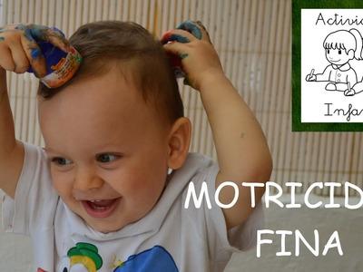 Desarrollo de la Motricidad Fina   Actividades Infantil