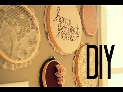 DIY Decora tu habitación con bastidores ♡