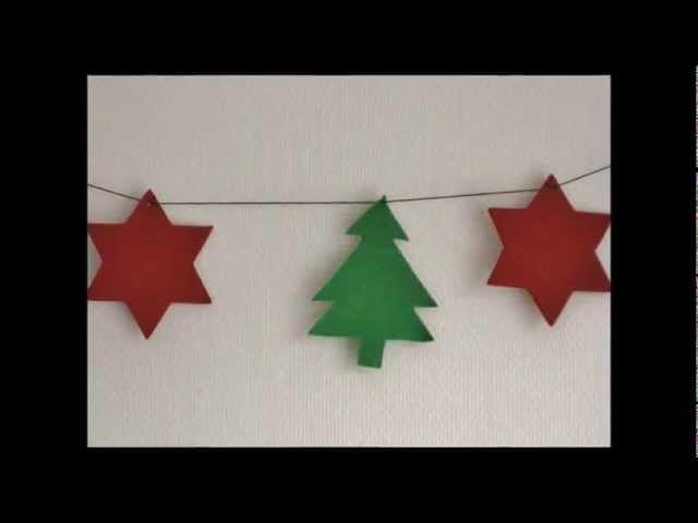 DIY Guirnalda navideña. Christmas garland.