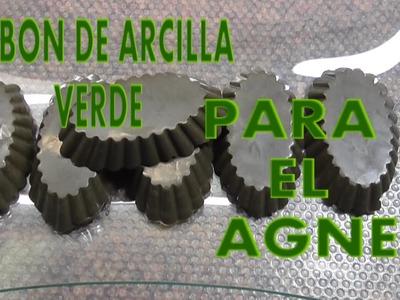 DIY JABÓN DE ARCILLA VERDE EL MEJOR PARA EL ACNÉ