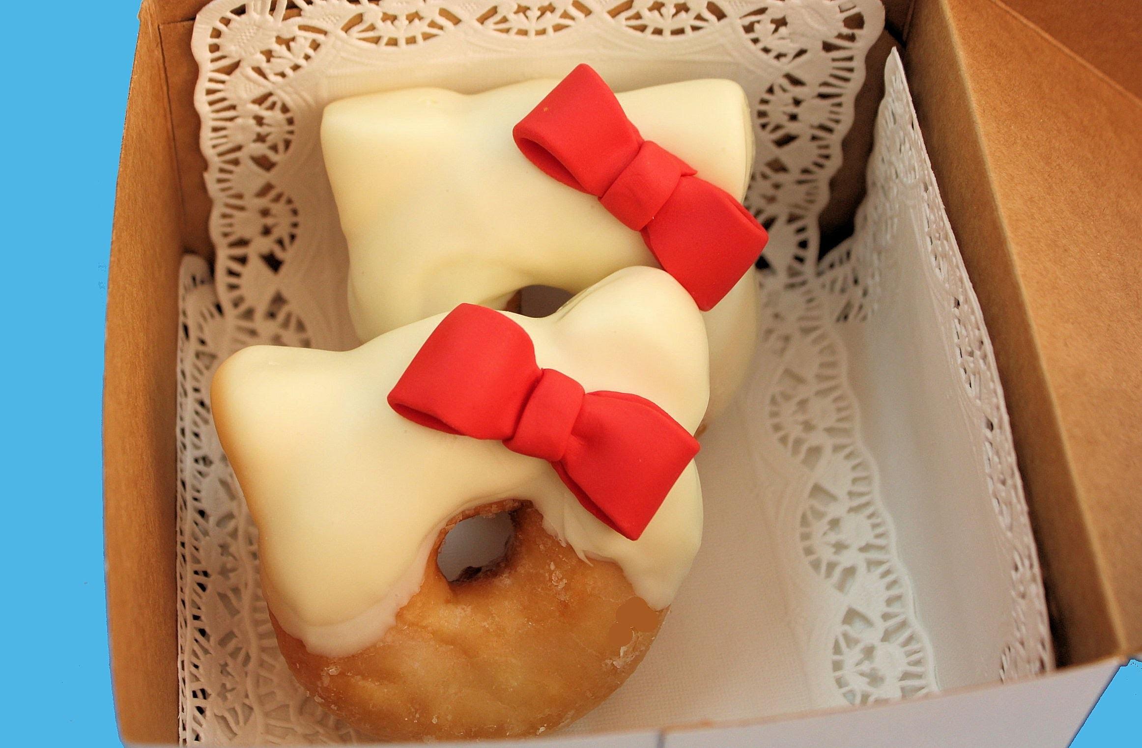 Donuts de Hello Kitty. Tutorial