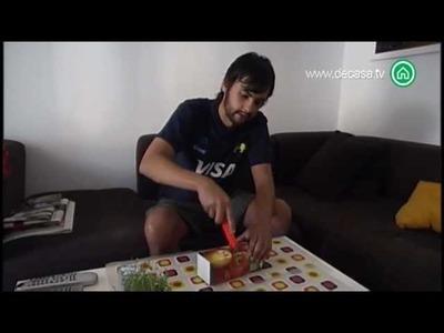 El rey del reciclaje Cómo hacer un macetero con tetra briks