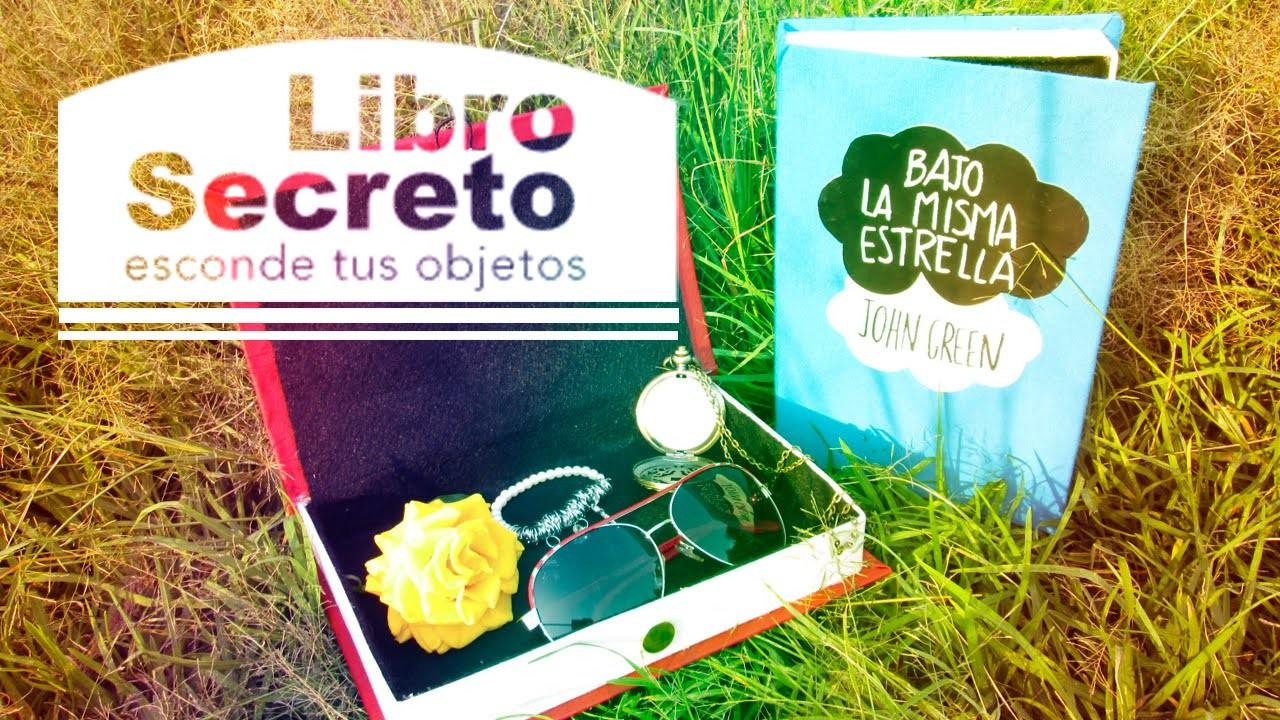 Libro Secreto Bajo la misma estrella | libro Bajo la misma estrella| CookingPaper