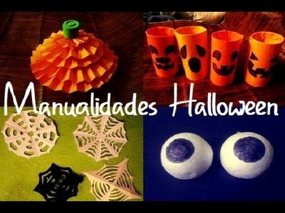 Manualidades de Halloween (Manualidad 71)