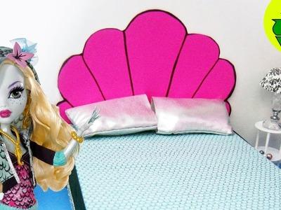 Manualidades para muñecas: Haz una cama Inspirada por la muñeca Monster High Lagoona