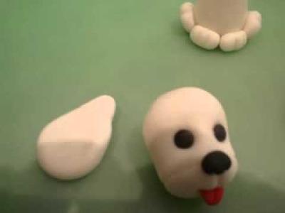 Paso a paso perrito en porcelana fría. ArtiDolç