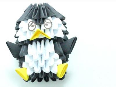 Pingüino De Origami 3D TUTORIAL