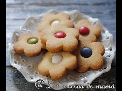 Receta de galletas de mantequilla