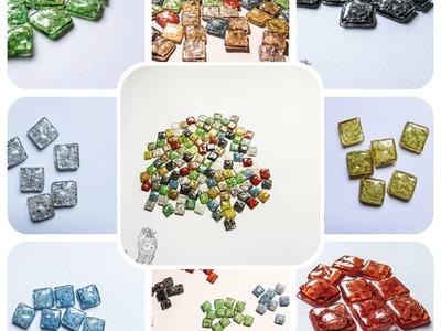 Reciclar CDs: crear teselas para mosaicos y decoraciones