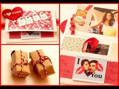 San Valentín ♥ Mini álbum + Caja Económica Gadorvision