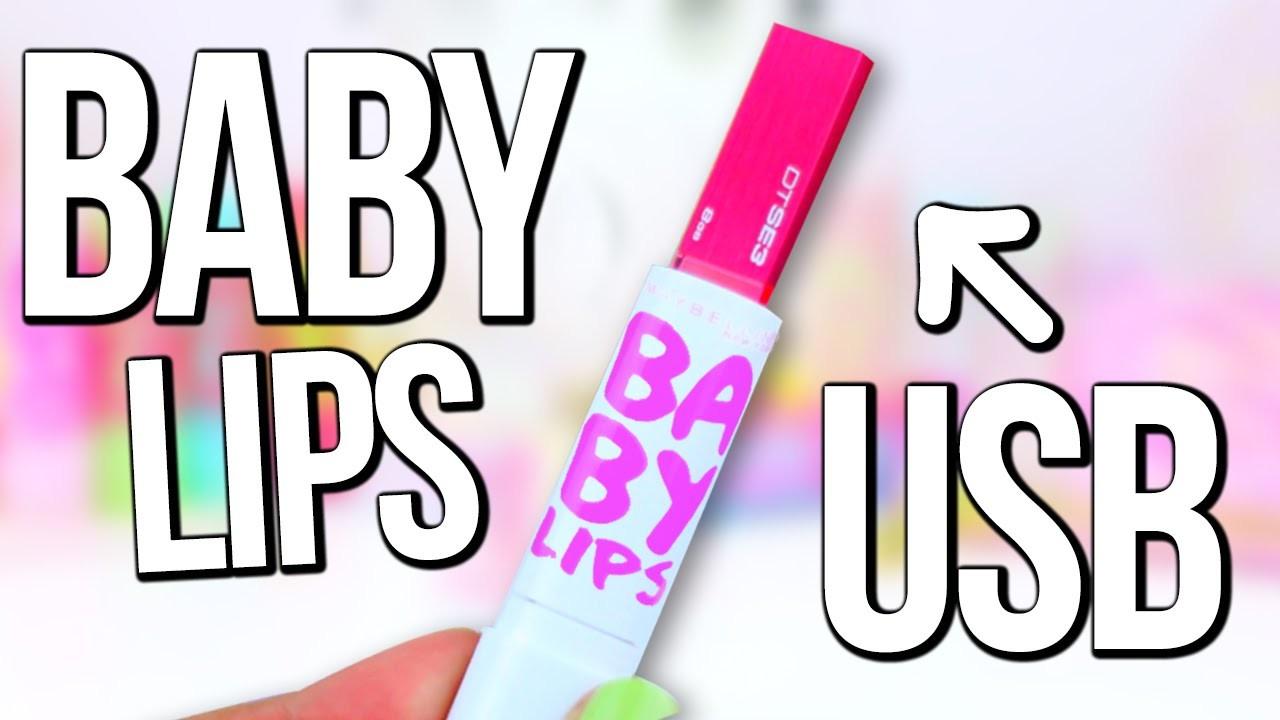 TRANSFORMA TU BABY LIPS EN MEMORIA USB - DIY REGRESO A CLASES!