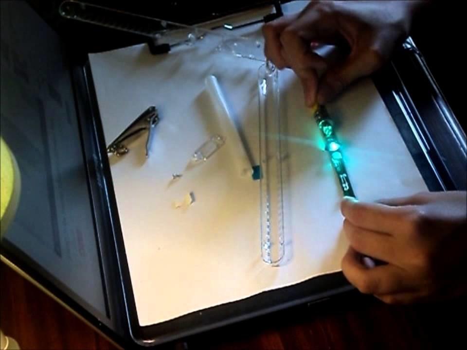 Tutorial Lightstick Pearl Aqua (SHINee)