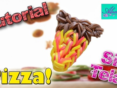 ♥ Tutorial: Pizza de gomitas (sin telar) ♥