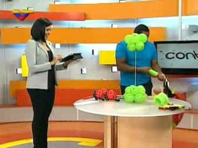 Aprenda cómo elaborar un Centro de Mesa con globos calibrados