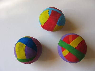 Bolas de malabarismo para el día del niño - Manualidades para todos