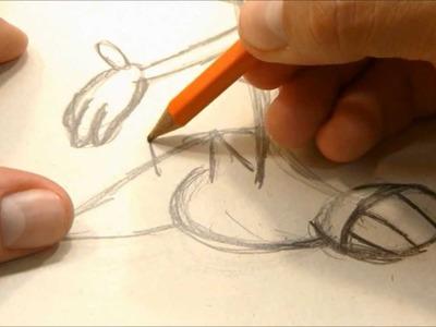 Colorear con marcadores y dibujar a Dragui