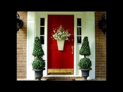 Cómo decorar tu puerta en Navidad
