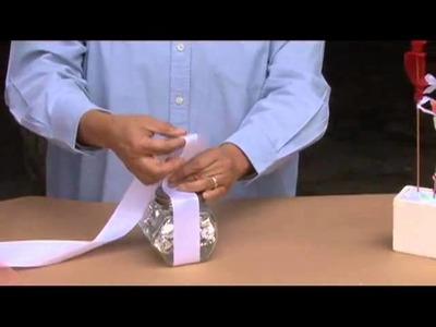 Cómo decorar un frascos de caramelos para una mesa de dulces