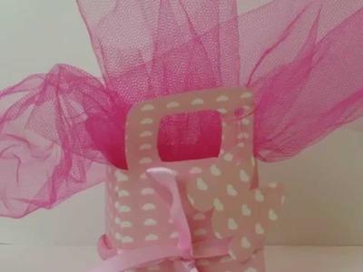 Como Hacer: Bolsitas de Souvenirs para cumpleaños