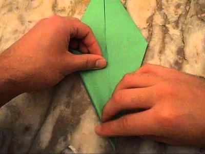 Cómo hacer tallo de una flor con papel