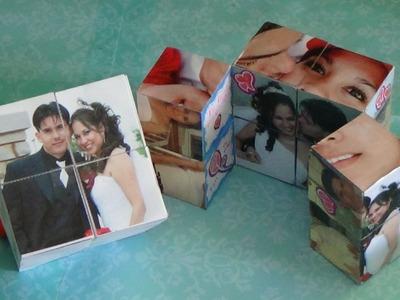 Como hacer un Cubo Magico con fotos