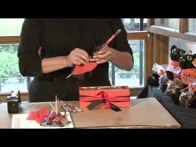 Cómo poner una mesa de dulces para una fiesta de Halloween de niños