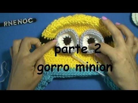 COMO TEJER GORRO MINION MI VILLANO FAVORITO PARTE 2