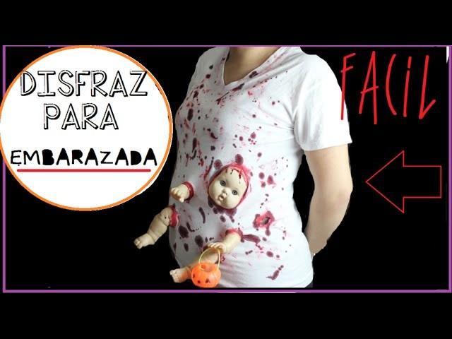 Disfraz para Embarazada -ZOMBIE - Ultimo minuto!
