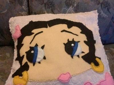 Manualidades: Almohada De Betty Boop - JuanCarlos960
