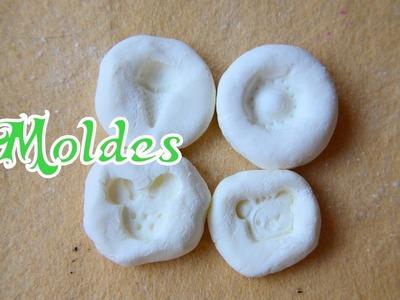 Moldes con silicona fría + harina
