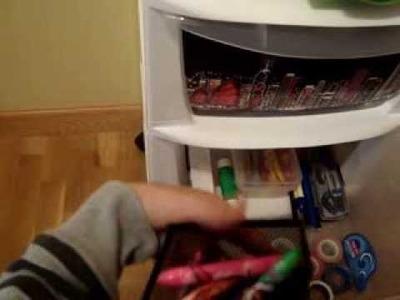 ORGANIZACIÓN: Como me organizo mi habitación de scrap