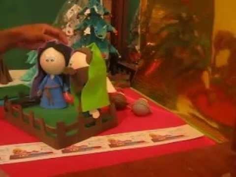 Pesebres 2012 foami GomaEva Artfoamicol Moldes Nacimiento Portal Belen  navidad  Christmas natal