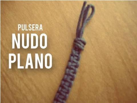 Pulsera Macrame: nudo cuadrado