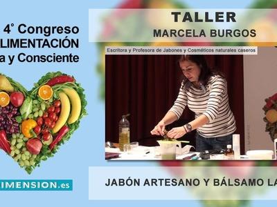 """Taller de Jabones artesanos y Cosmética natural casera - Marcela Burgos """" Chela """""""