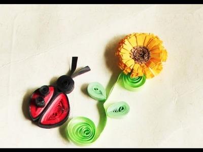 Tarjeteria en Filigrana (Quilling) Flores 1.2