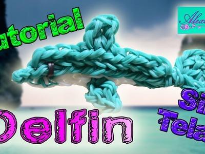 ♥ Tutorial: Delfín de gomitas (sin telar) ♥